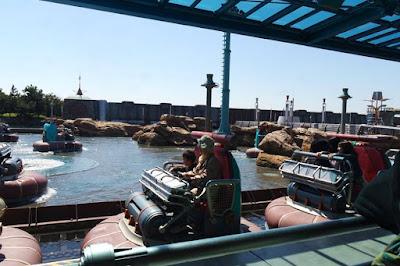 Aquatopia Water Ride at Tokyo Disneysea Japan