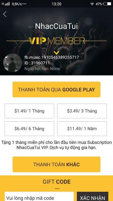 Hướng dẫn cài đặt bản MOD VIP Nhaccuatui và Zing mp3, hướng dẫn hack tài khoản vip mp3 và Nhaccuatui