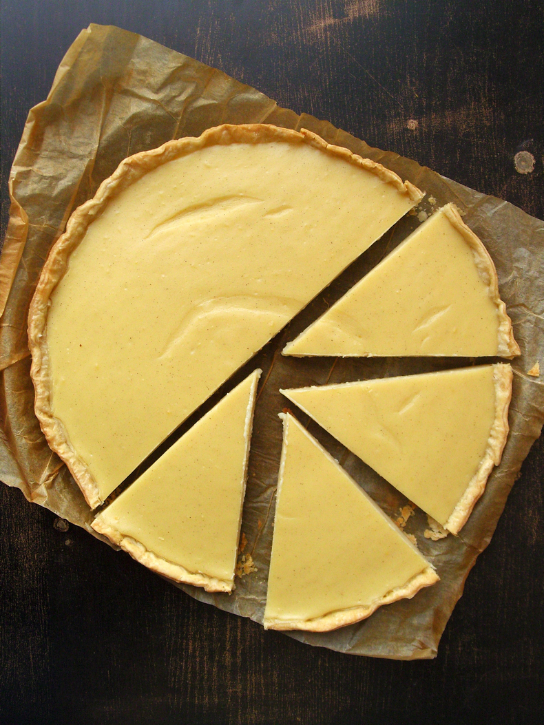 french pastry cream tart recipe