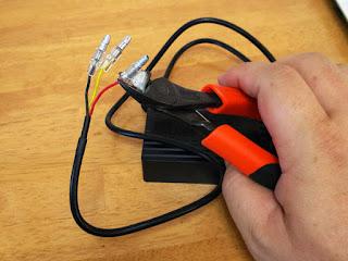 スフィアライト LEDヘッドライト NEOL PH12型 ギボシ配線のすっ飛ばし