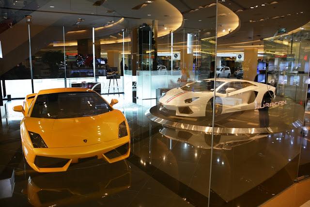 Siam Square Bangkok Lamborghini
