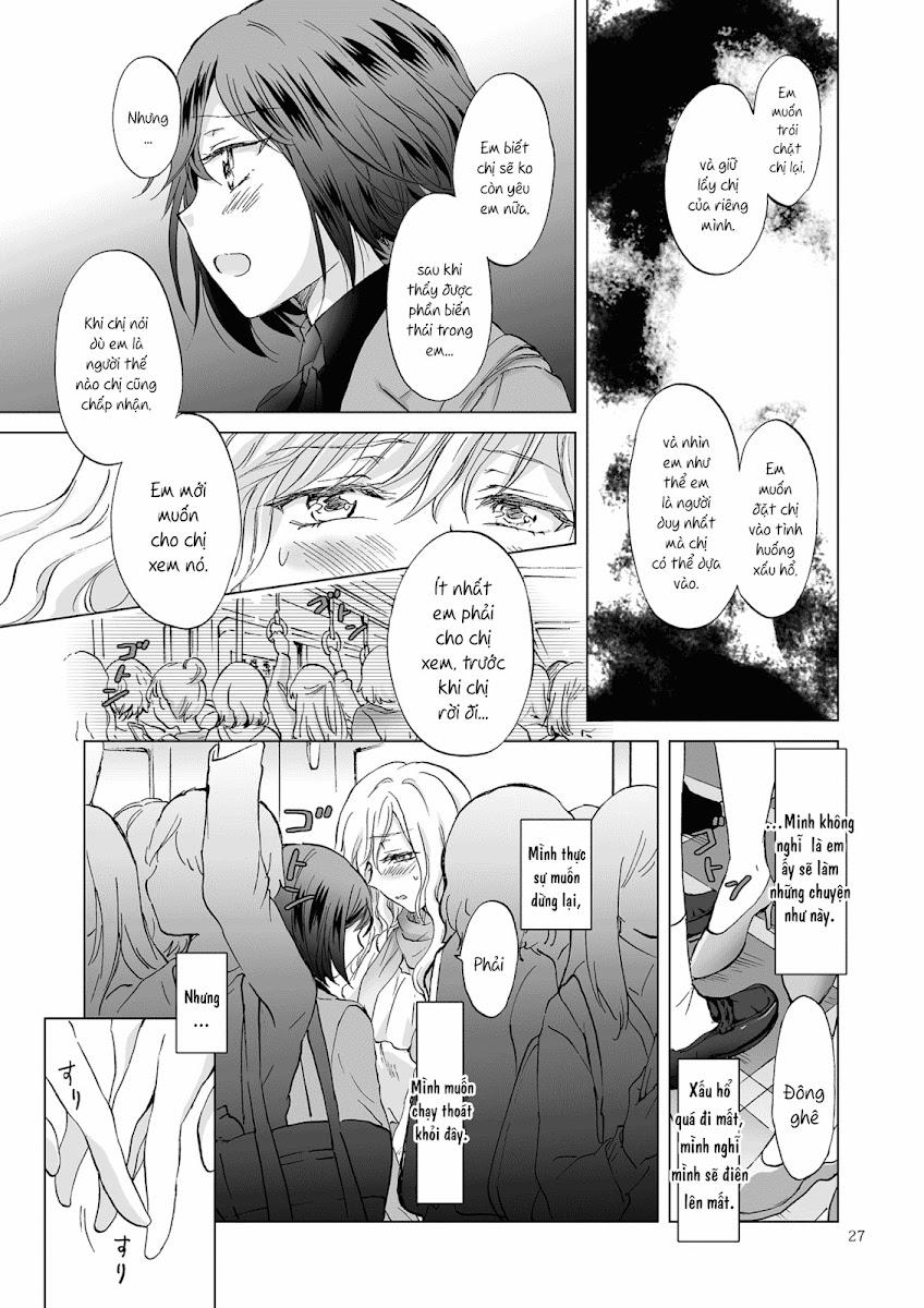 HentaiVN.net - Ảnh 28 - Tuyển tập Yuri Oneshot - Chap 125: Kinbaku Date ~Toshishita Kanojo ni Shibararete~