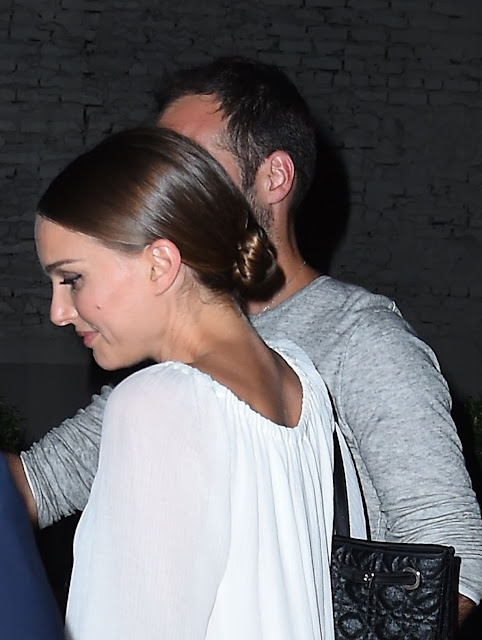 Natalie Portman Night Out Style – Leaving Il Buco Italian Restaurant in NYC