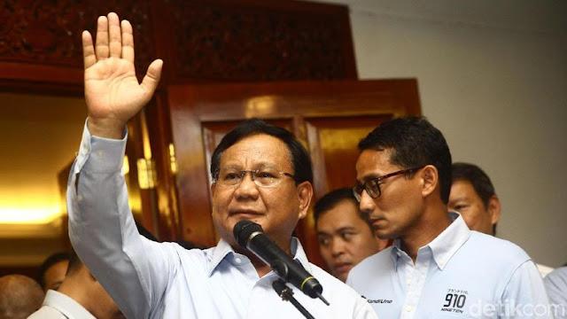 Prabowo: Ada yang Minta Saya Pidato Jangan Keras-keras