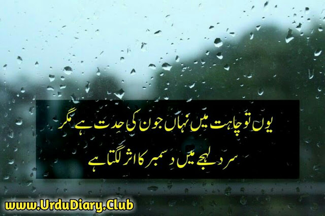 Latest Urdu Sad Poetry - youn tu chahat mai naha june ki had hai mager