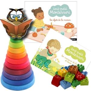 tout-petit Montessori cartes classifiées language apprentissage 12 mois animaux petits objets de la maison avis critique chronique assistante maternelle