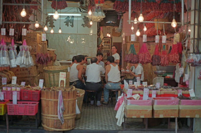 Hong Kong, Des Vœux Road, © L. Gigout, 1990