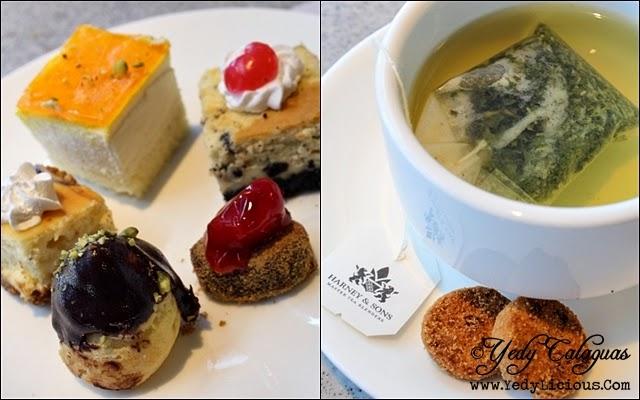 Desserts and Tea at Vikings Buffet SM Megamall
