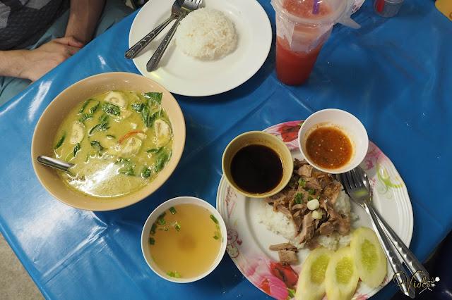 Thailand Phuket weekend market food