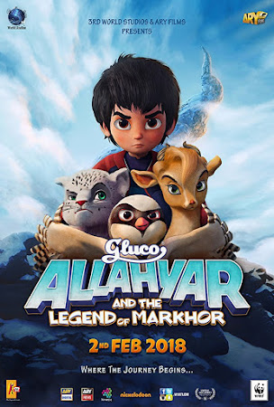 Poster Of Urdu Movie Allahyar and the Legend of Markhor 2018 Full HD Movie Free Download 720P Watch Online