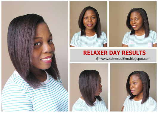 Relaxer Day Results…