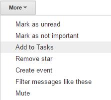 Add to Tasks