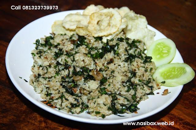 Resep nasi goreng daun mengkudu nasi box cimanggu ciwidey