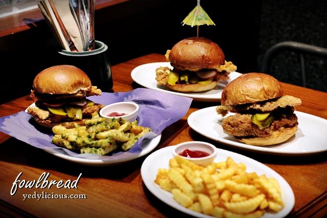 Fowlbread BGC Bonifacio High Street, Fowlbread Chicken Sandwich Blog Review Menu Address Contact No Facebook Twitter Instagram YedyLicious Manila Food Blog