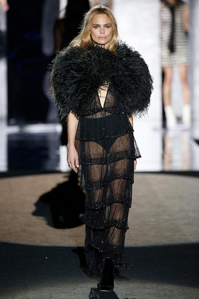 black lace gowns