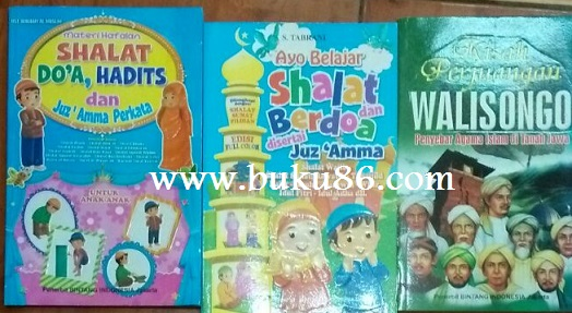 Buku Bacaan Anak Muslim