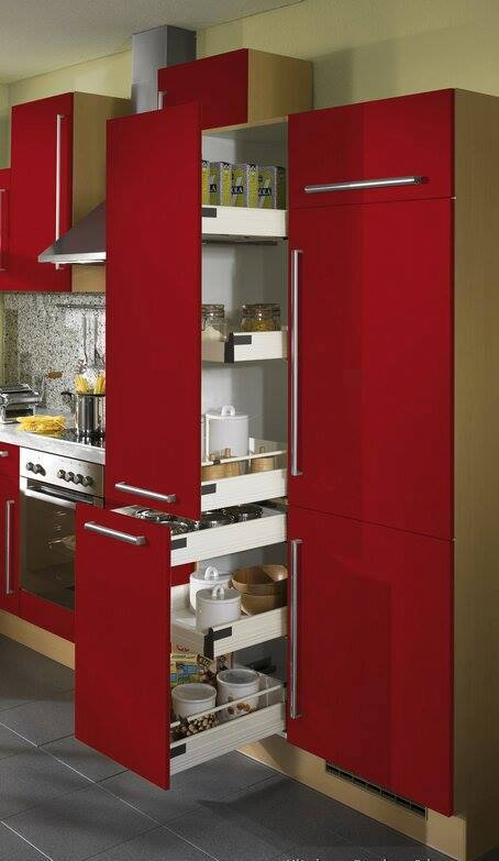HOME DECOR Modern Red kitchen Designs