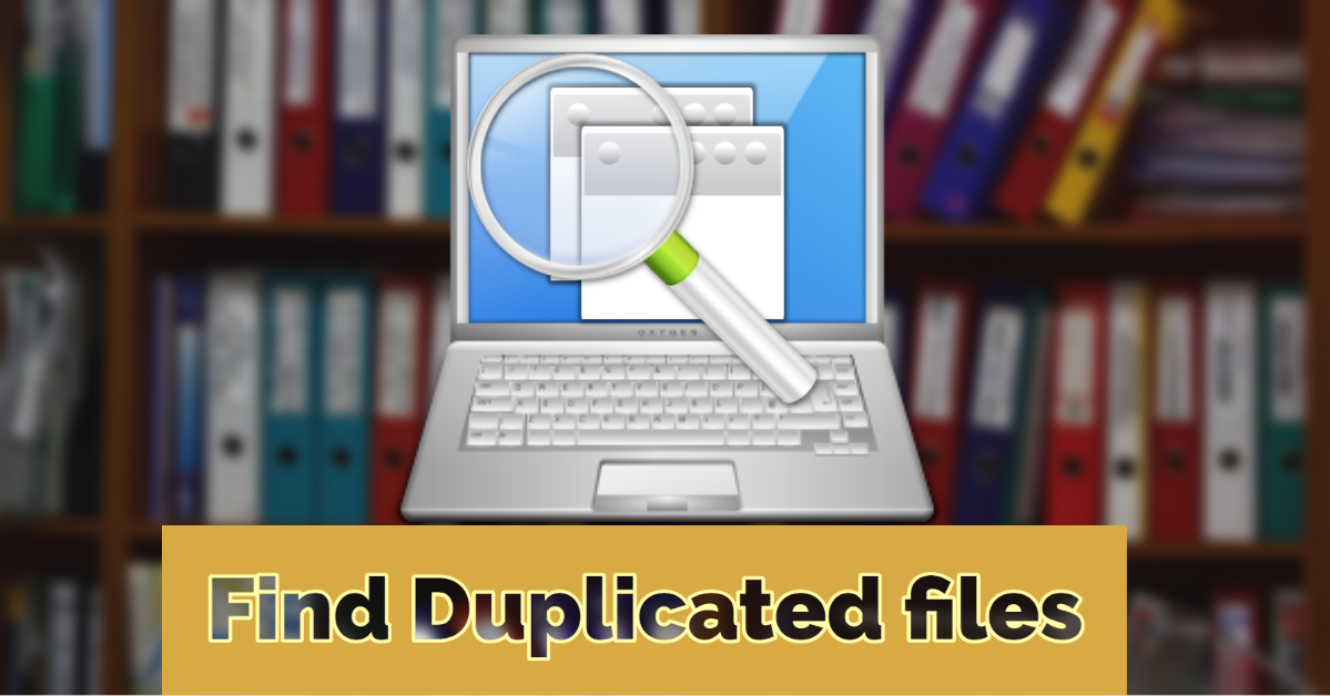 Find & remove duplicate files and images