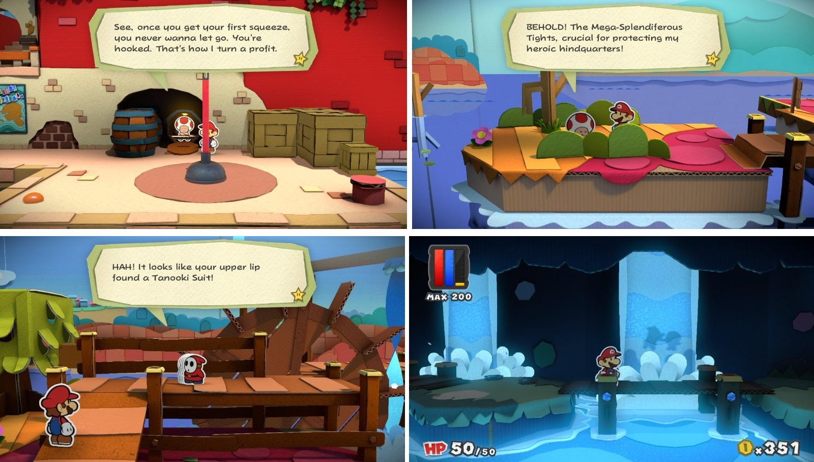 Nintendo Wii U, Paper Mario Color Splash, adventure game