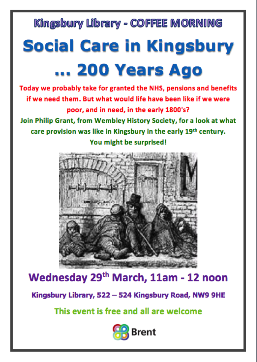 Wembley Matters Social Care In Kingsbury200 Years Ago