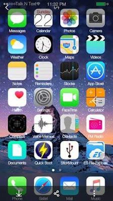 [ROM][KOPA]iOS9 ROM (Single Sim) For Cherry Mobile Vibe X170 [MT6592] Screenshots