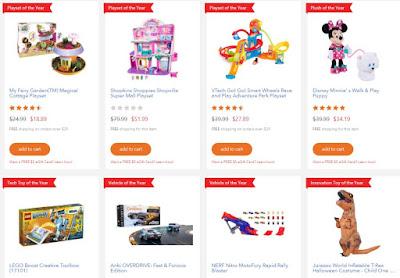 Картинка с Toys R Us с лучшими игрушками 2017 года
