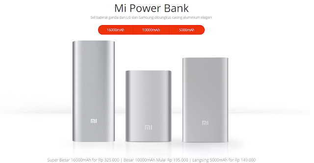 Power Bank Xiomi
