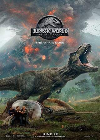 Jurassic World Fallen Kingdom 2018 Dual Audio Hindi 350MB HDTC 480p