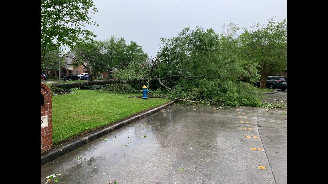 April 7 2019 Damaging Storm Hits Houston Texas Kingdom