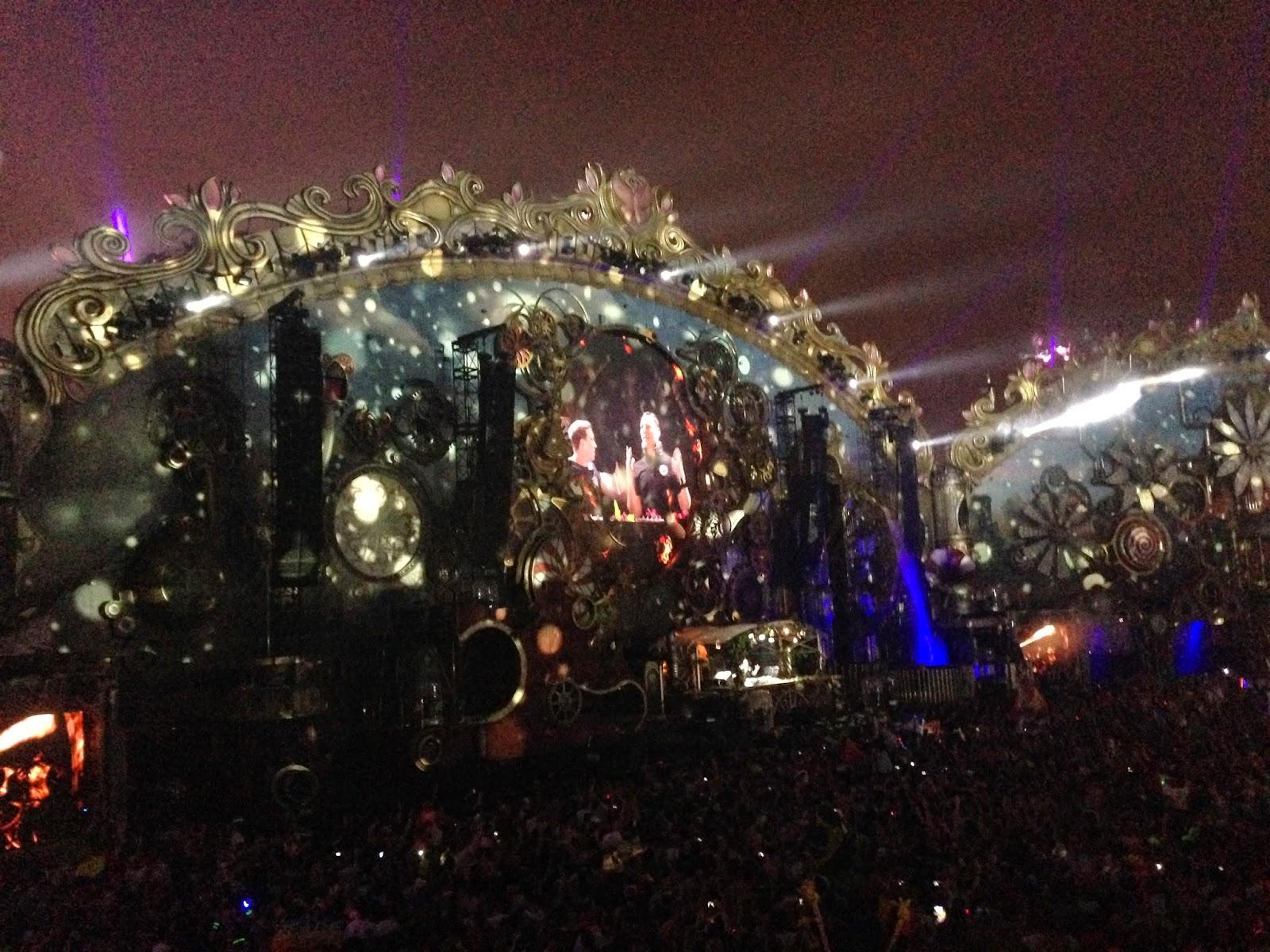 Hardwell and Tiesto Tomorrowland 2014