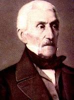 Retrato de José de San Martín de anciano