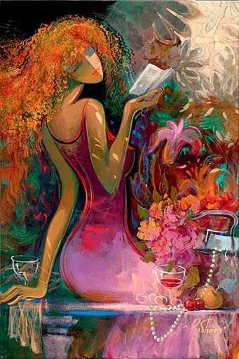 Despertar da Primavera - Irene Sheri e suas românticas pinturas