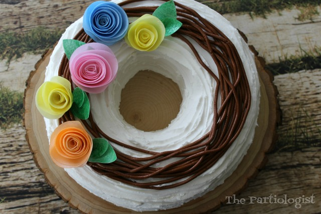 easy summer wreath cake