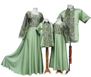 model baju batik muslim sarimbit terbaru