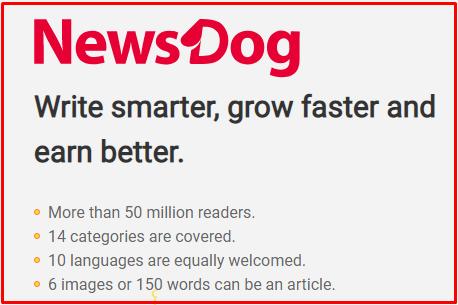 News Dog Pe Article Likhe Aur Paise Kamaye