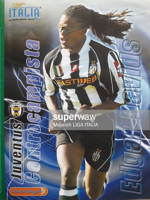 PIN UP EDGAR DAVIDS (JUVENTUS)