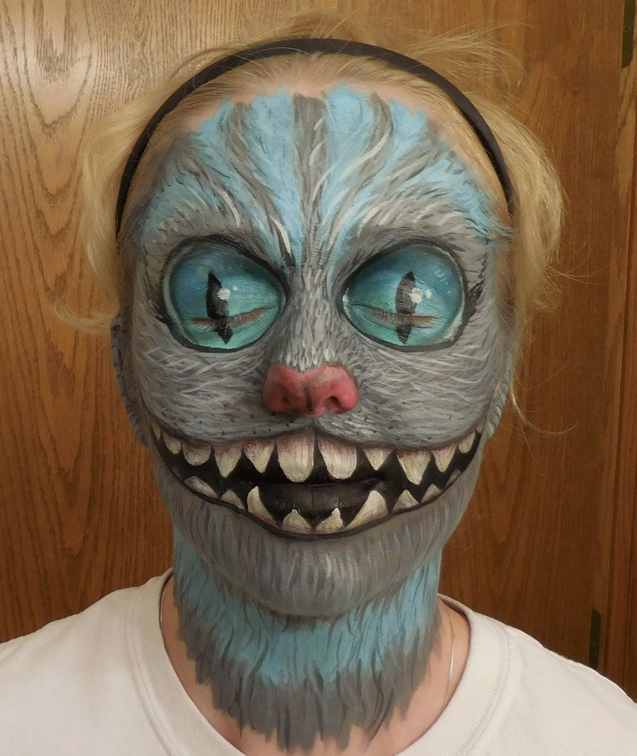 06-Cheshire-Cat-Alice-in-Wonderland-Kim-Witte-Face-and-Body-Painting-Makeup-Transformations-www-designstack-co