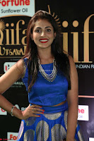 Madhu Shalini Looks Super Cute Slim trim Blue Choli Ghagra IIFA Utsavam Awards 30.JPG