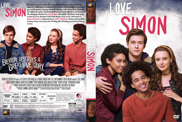 Love, Simon DVD Cover