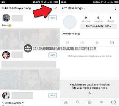 daftar akun instagram lewat hp