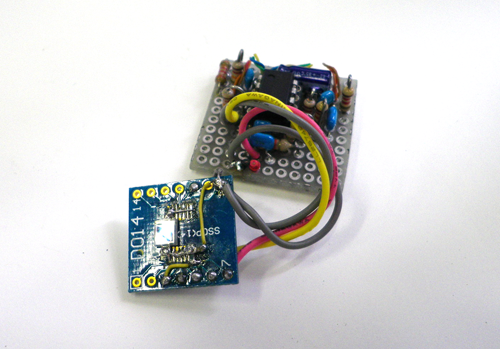 Pin Diode Radiation Detector Circuit