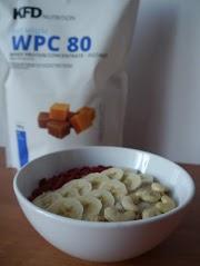 Owsianka z odżywką białkową