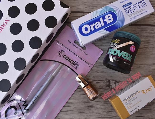 Productos de la caja guapabox de marzo 2018