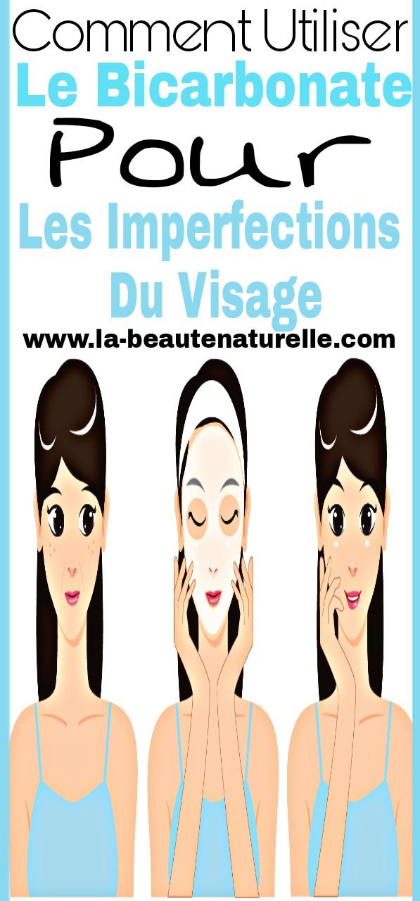 Comment utiliser le bicarbonate pour les imperfections du visage