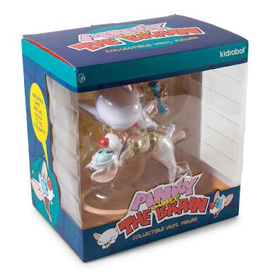 Kidrobot x Animaniacs Pinky and The Brain Vinyl Figure