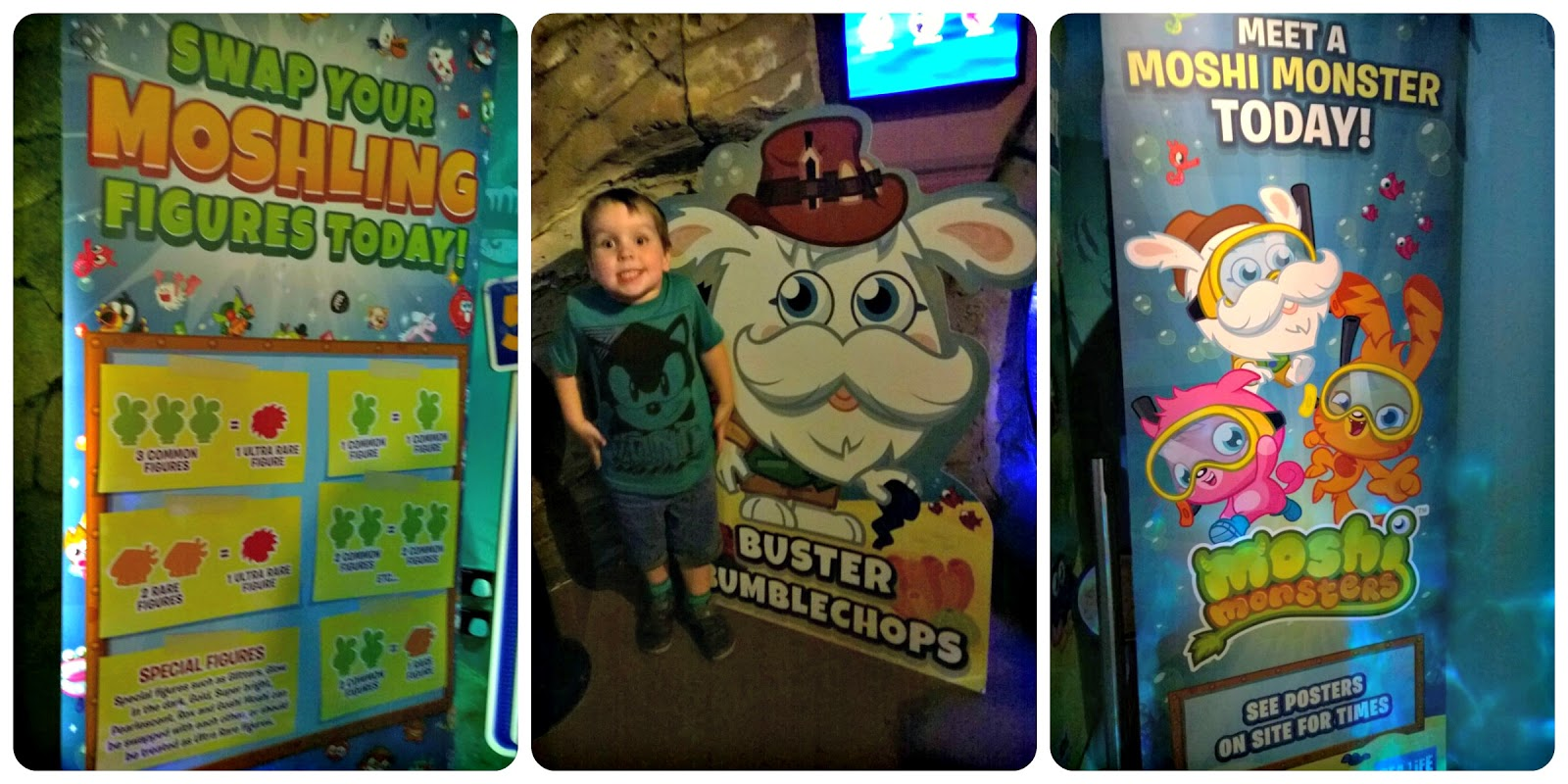 Moshi Monsters at SEA LIFE Centre Manchester