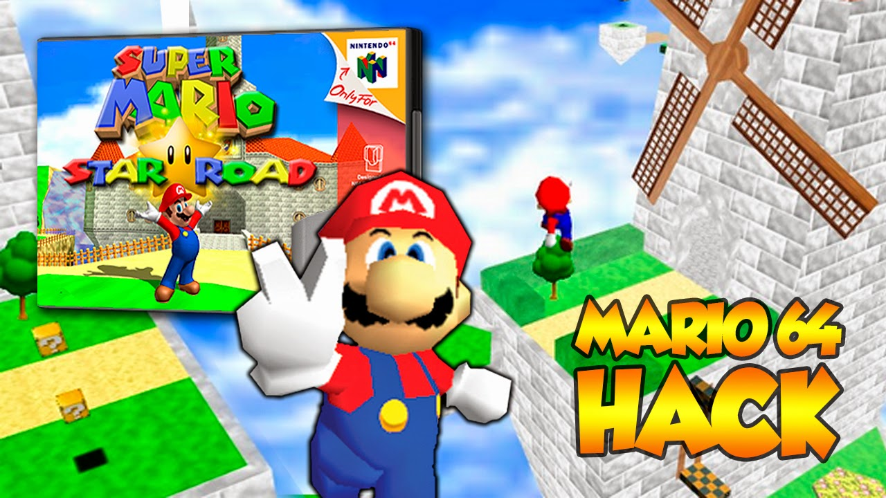super mario 64 hack star road download