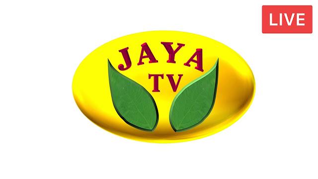 Watch Jaya tv live