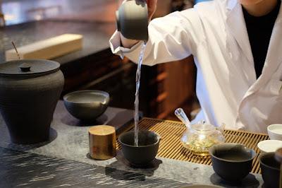 東京の日本茶専門店 櫻井焙茶研究所 湯冷まし