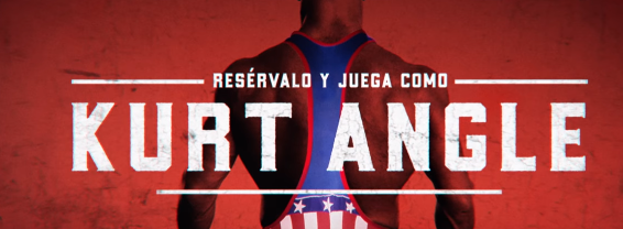Kurt Angle como aliciente de reserva de WWE 2K18